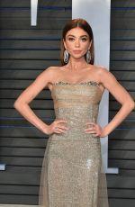 SARAH HYLAND at 2018 Vanity Fair Oscar Party in Beverly Hills 03/04/2018