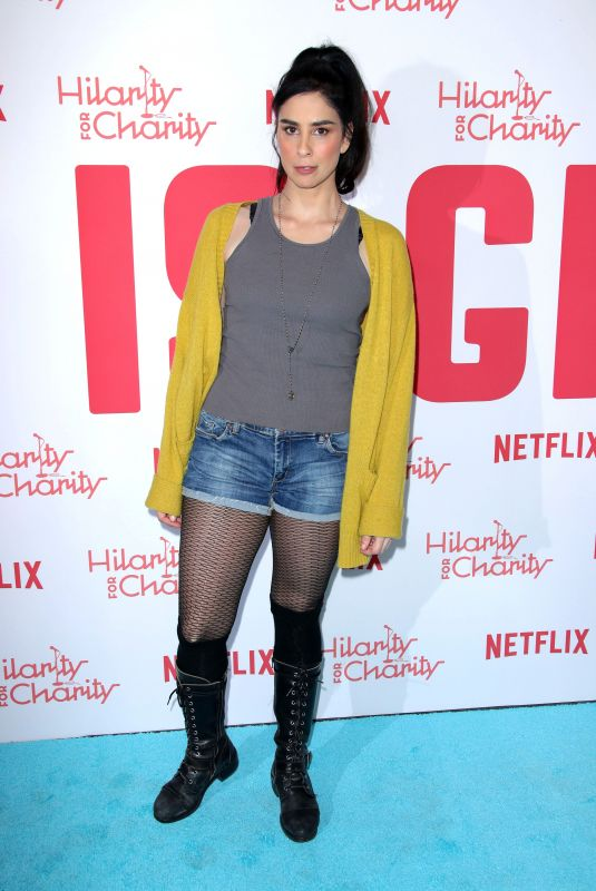 SARAH SILVERMAN at Hilarity for Charity's 6th Annual Variety Show in Los Angeles 03/24/2018