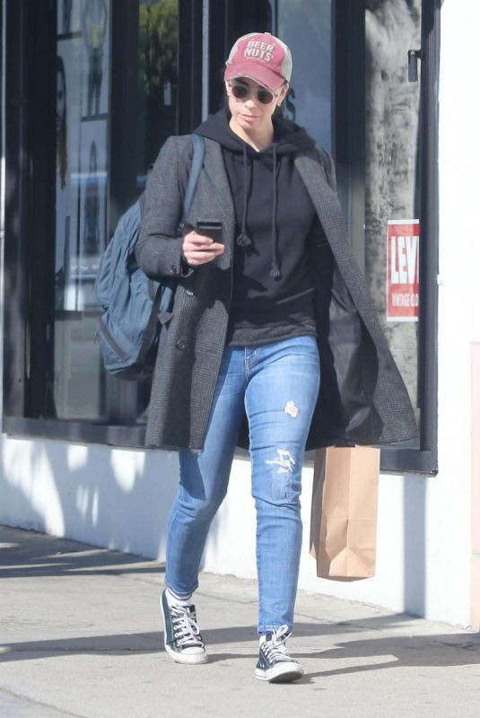 SARAH SILVERMAN Out Shopping in Hollywood 03/01/2018