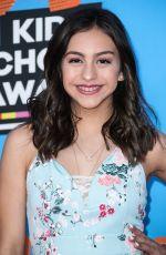 SARYNA GARCIA at 2018 Kids' Choice Awards in Inglewood 03/24/2018