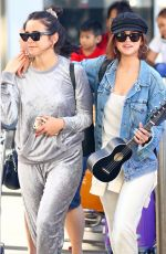 SELENA GOMEZ Arrives at Airport in Sydney 03/19/2018