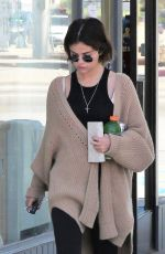 SELENA GOMEZ at a Gas Station in Los Angeles 03/28/2018