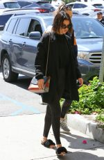 SELENA GOMEZ Leaves a Gym in Hollywood 03/29/2018