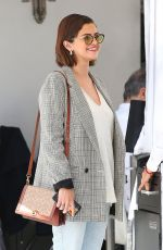 SELENA GOMEZ Out and About in Beverly Hills 03/30/2018