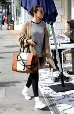 SELENA GOMEZ Out for Breakfast in Hollywood 03/08/2018