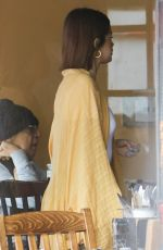 SELENA GOMEZ Out for Lunch in Beverly Hills 03/17/2018