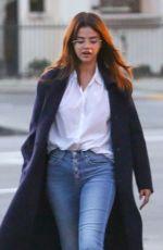 SELENA GOMEZ Out in Studio City 02/28/2018