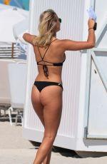 SELENA WEBER in Bikini on the Beach in Miami 03/07/2018
