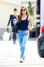 SELMA BLAIR in Tank Top and Jeans Out in Los Angeles 03/19/2018