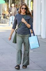 SELMA BLAIR Out Shopping in Los Angeles 02/28/2018