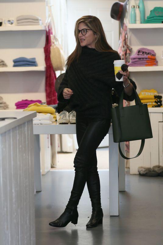 SELMA BLAIR Shopping at Jill Roberts in Los Angeles 03/15/2018