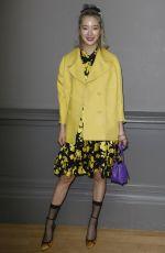 SEO JI-HYE at Rochas Fashion Show at PFW in Paris 02/28/2018