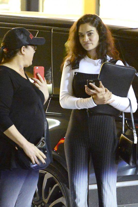 SHANINA SHAIK Night Out in Los Feliz 03/09/2018