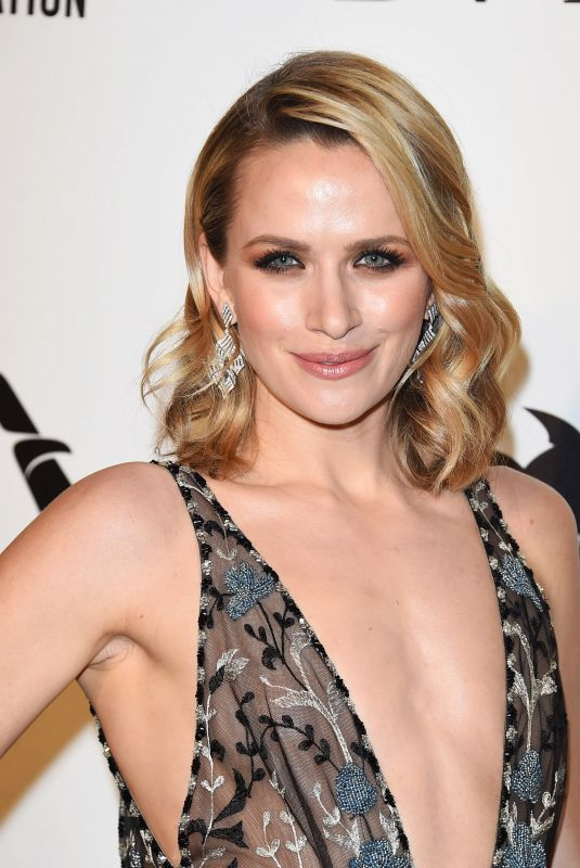 SHANTEL VANSANTEN at Elton John Aids Foundation Academy Awards Viewing Party in Los Angeles 03/04/2018