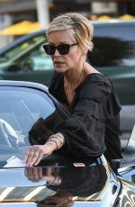 SHARON STONE Gets a Parking Ticket in Beverly Hills 03/06/2018