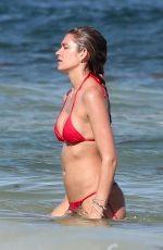 SHAYNA TAYLOR in Bikini on the Beach in Tulum 03/06/2018