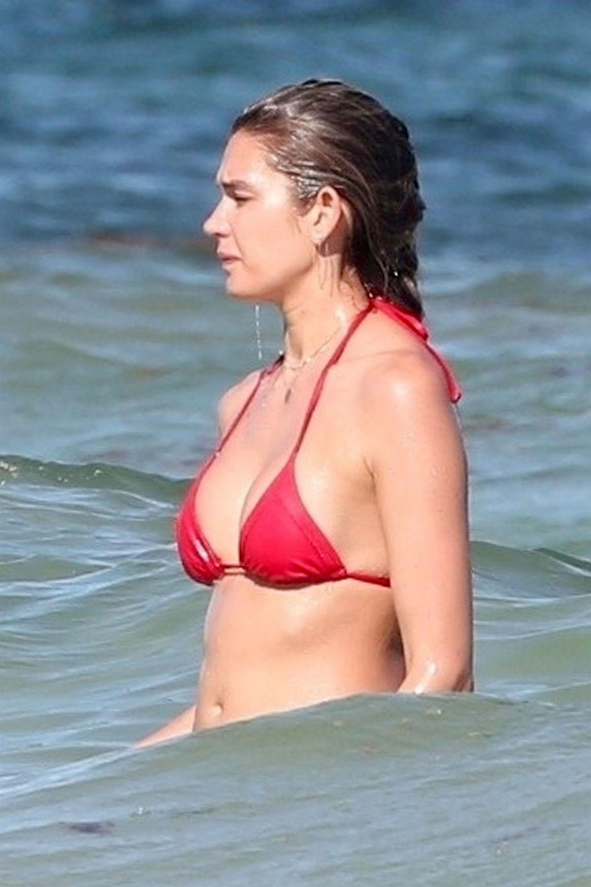 Shayna Taylor in Bikini at the beach in Tulum Pic 2 of 35