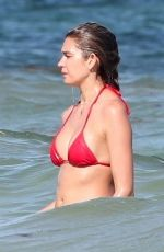 SHAYNA TAYLOR in Bikini on the Beach in Tulum 03/06/2018
