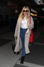 SIENNA MILLER at Los Angeles International Airport 03/05/2018