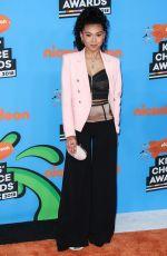 SIERRA CAPRI at 2018 Kids' Choice Awards in Inglewood 03/24/2018