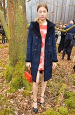 SIGRID BOUAZIZ at Chanel Forest Runway Show in Paris 03/06/2018