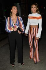 SISTINE ROSE and SOPHIA STALLONE at a Party at Dream Hotel in Los Angeles 03/21/2018