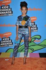 SKAI JACKSON at 2018 Kids' Choice Awards in Inglewood 03/24/2018