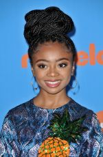 SKAI JACKSON at 2018 Kids' Choice Awards in Inglewood 03/24/2018