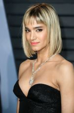 SOFIA BOUTELLA at 2018 Vanity Fair Oscar Party in Beverly Hills 03/04/2018