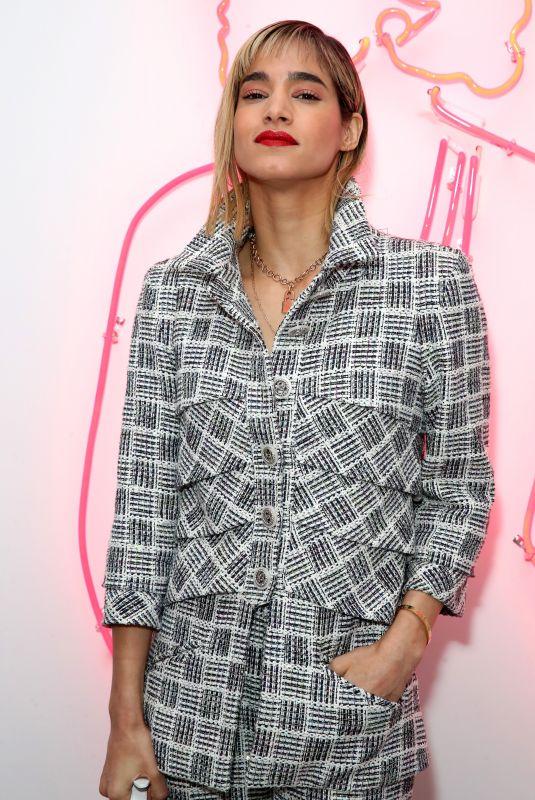 SOFIA BOUTELLA at Chanel Pre-Oscars Event in Los Angeles 02/28/2018