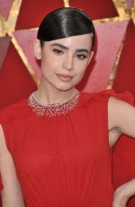 SOFIA CARSON at 90th Annual Academy Awards in Hollywood 03/04/2018