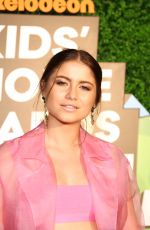 SOFIA REYES at Nickelodeon Kids' Choice Awards Slime Soiree in Venice 03/23/2018