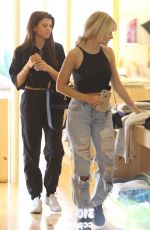 SOFIA RICHIE and LOTTIE MOSS Shopping at Elder Statesman in West Hollywood 03/19/2018