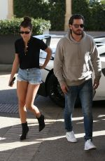 SOFIA RICHIE and Scott Disick Shopping at Barneys New York in Beverly Hills 03/08/2018