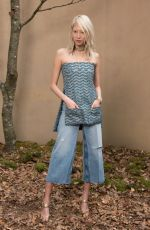 SOO JOO PARK at Chanel Forest Runway Show in Paris 03/06/2018