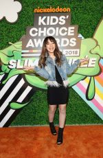 SOPHIA MONTERO at 2018 Kids' Choice Awards in Inglewood 03/24/2018