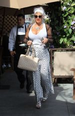 SOPHIA VEGAS WOLLERSHEIM Out and About in Beverly Hills 03/19/2018