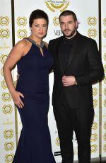 SOPHIE AUSTIN at 2018 National Film Awards in London 03/28/2018