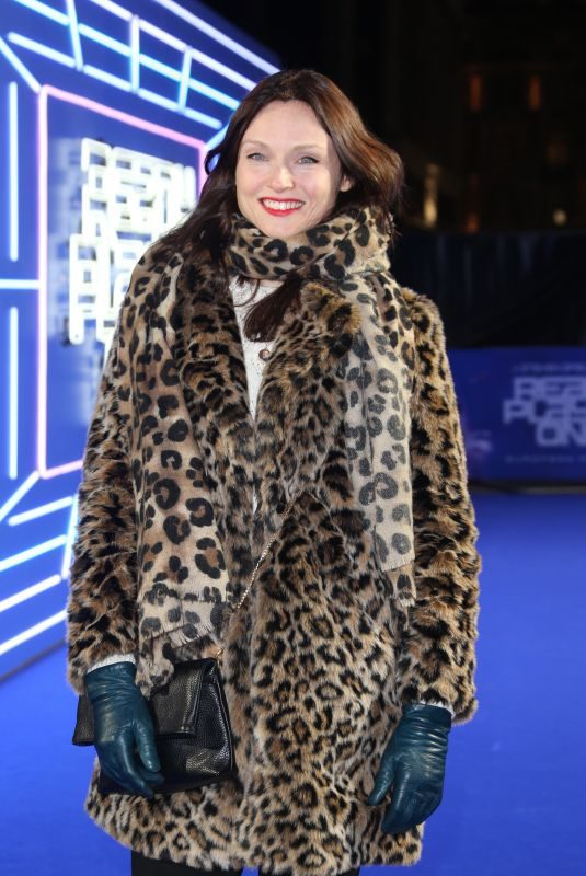 SOPHIE ELLIS-BEXTOR at Ready Player One Premiere in London 03/19/2018
