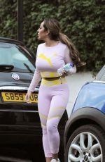 SOPHIE KASAEI Heading to a Gym in London 03/27/2018
