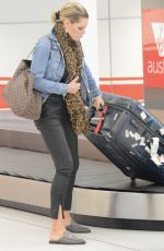 SOPHIE MONK Arrives at Airport in Sydney 03/10/2018