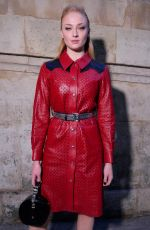 SOPHIE TURNER at Louis Vuitton Fashion Show in Paris 03/06/2018
