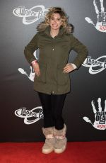 STACEY SOLOMON at The Walking Dead: The Ride Media Night at Thorpe Park in London 03/29/2018