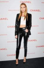 STELLA MAXWELL at Chanel Pre-Oscars Event in Los Angeles 02/28/2018