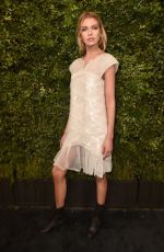 STELLA MAXWELL at Charles Finch and Chanel Pre-oscar Dinner in Los Angeles 03/03/2018