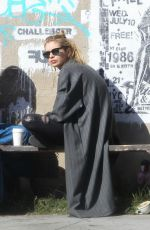 STELLA MAXWELL Out for Coffee at Gjelina in Los Angeles 03/01/2018