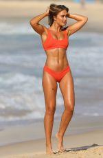 STEPH CLAIR SMITH in Bikini on the Set of a Photoshoot at Bondi Beach 03/29/2018