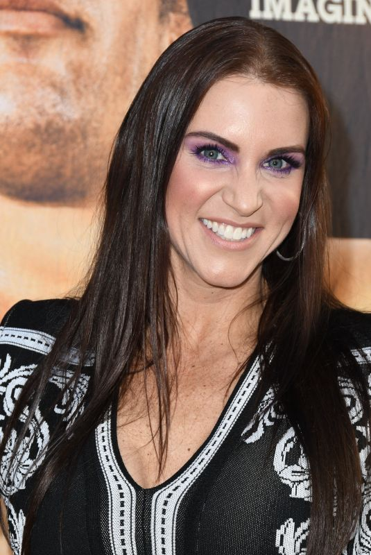 STEPHANIE MCMAHON at Andre the Giant Premiere in Hollywood 03/29/2018