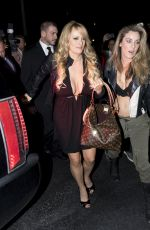 STORMY DANIELS Arrives at Solid Gold Strip Club at Pompano Beach 03/09/2018