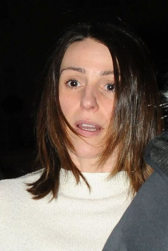 SURANNE JONES Night Out in London 03/30/2018